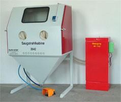 Strahlbox MEOS SB 1065 mit Absaugung