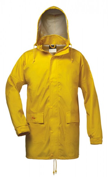 Spritzschutz PU-Jacke