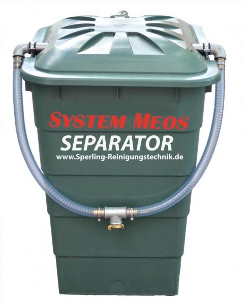 MEOS Separator Abwasserfilterfass