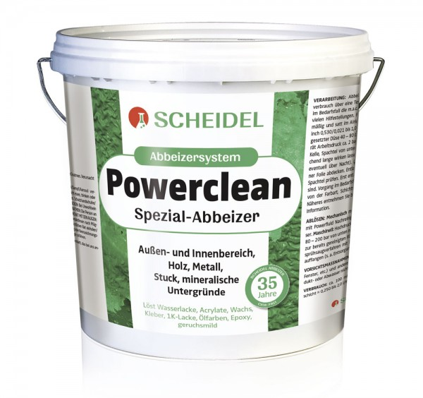 Powerclean Entlacker