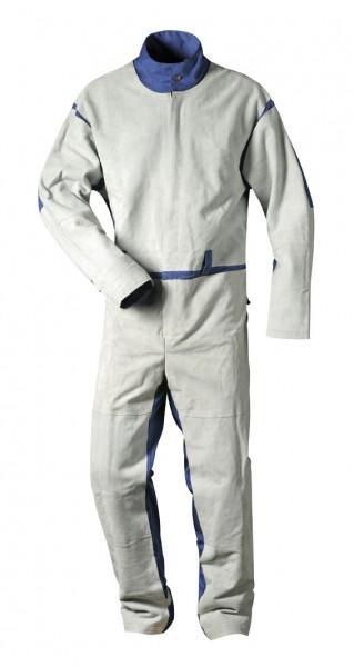 Strahlanzug Leder mit Rücken aus Stoff